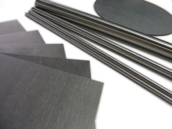 Tungsten sheets and rods